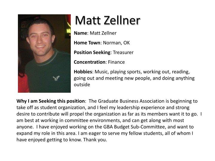 Matt Zellner