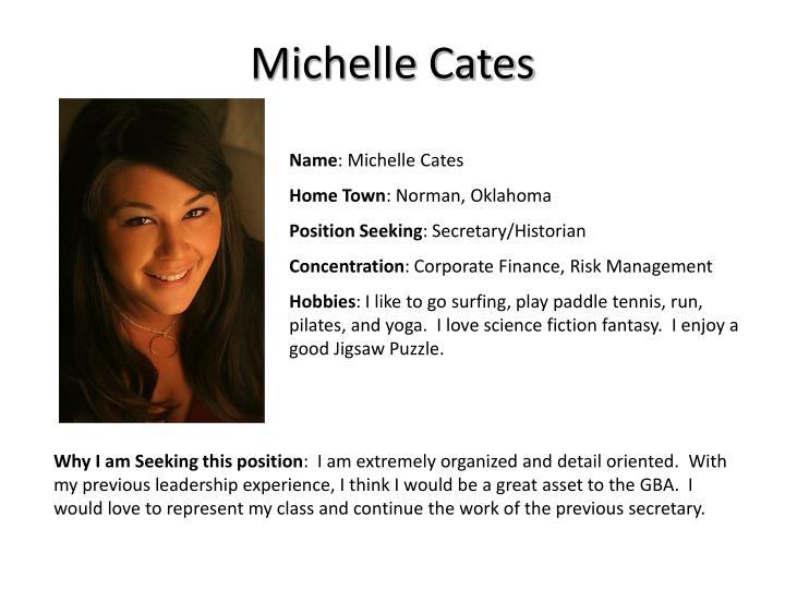 Michelle Cates