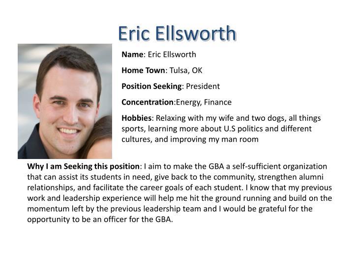 Eric Ellsworth
