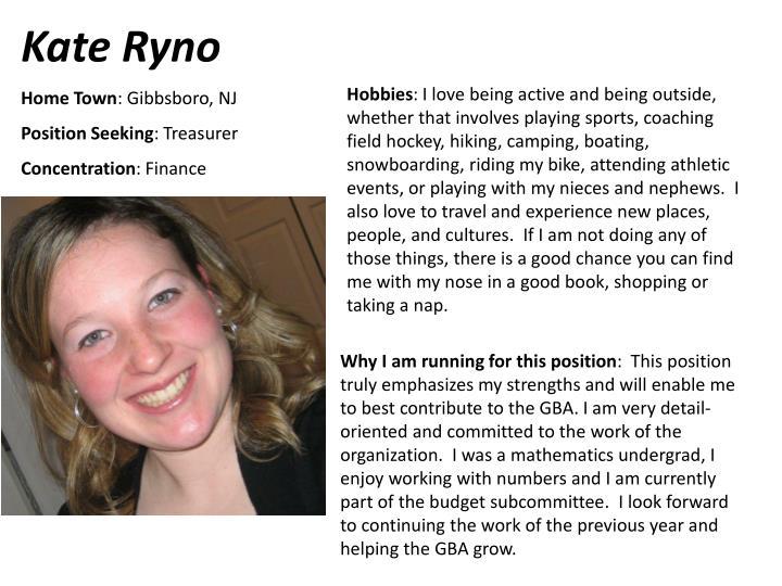 Kate Ryno