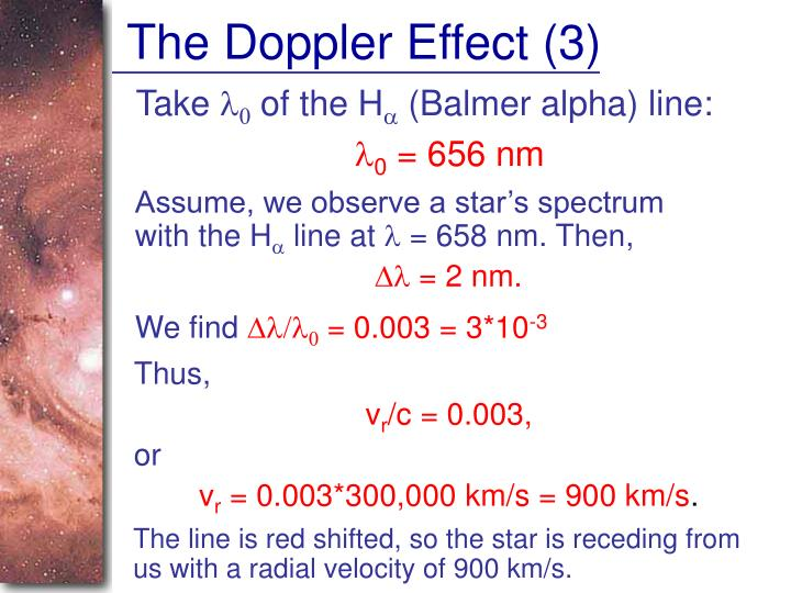 The Doppler Effect (3)
