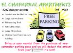 el chaparral apartments