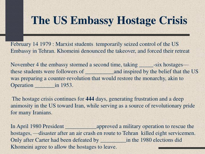 The US Embassy Hostage Crisis
