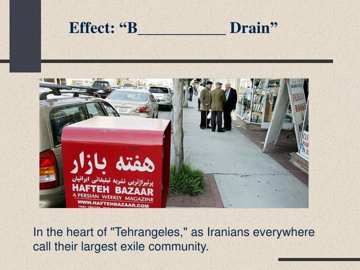 "Effect: ""B___________ Drain"""