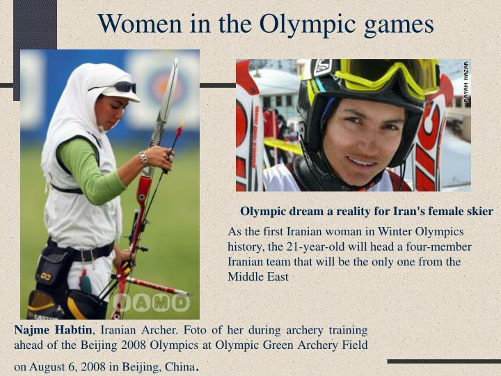 Women in the Olympic games