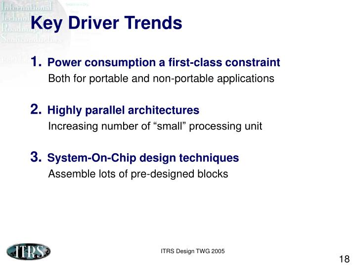 Key Driver Trends
