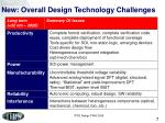 new overall design technology challenges1
