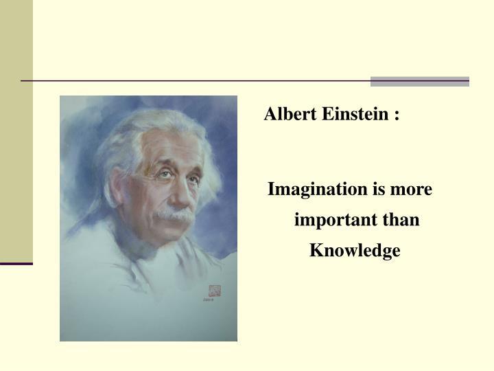 Albert Einstein :