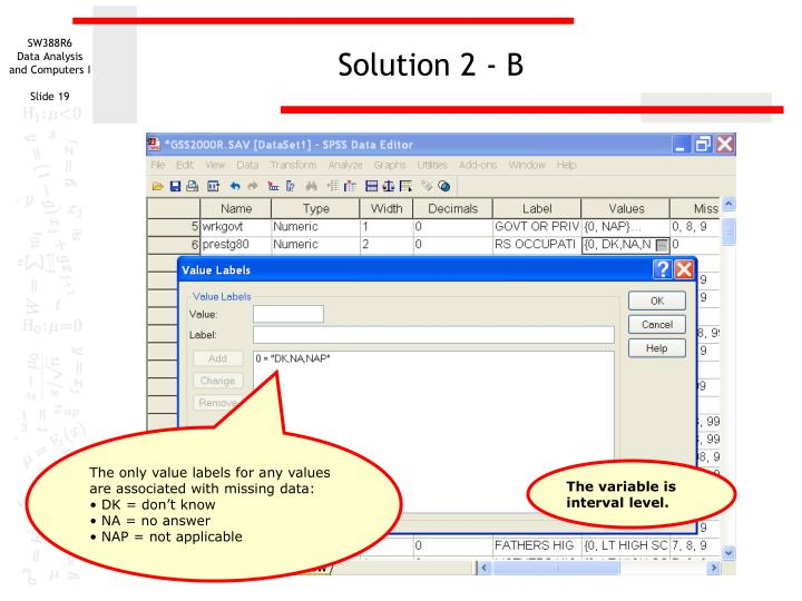 Solution 2 - B
