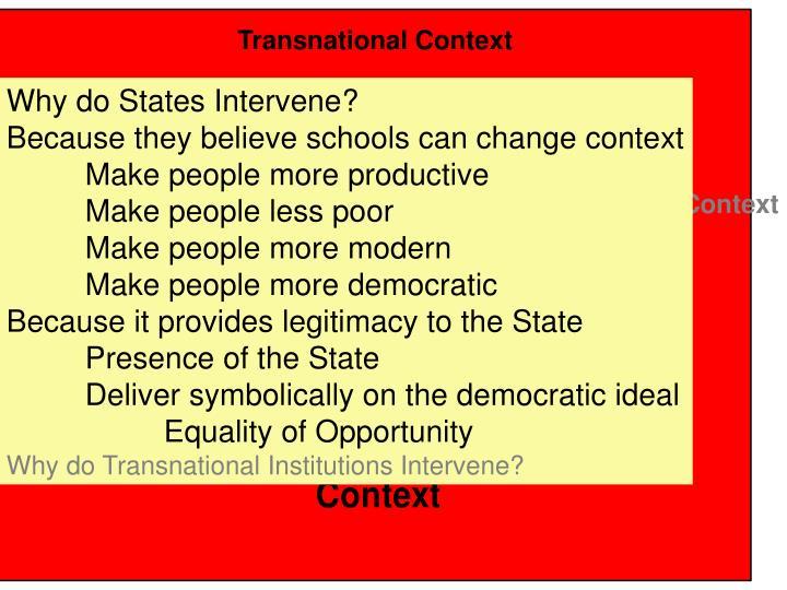 Transnational Context