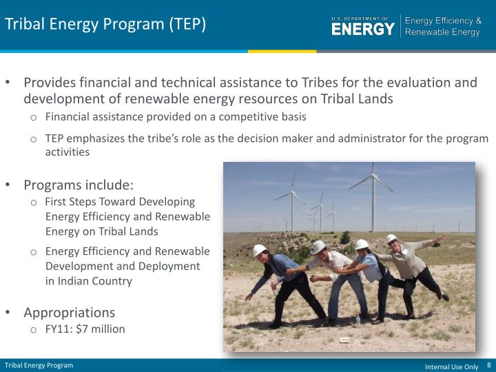 Tribal Energy Program (TEP)