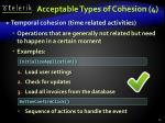 acceptable types of cohesion 4