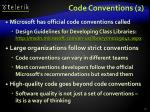 code conventions 2