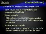 encapsulation 2