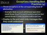 exceptions handling best practices 4