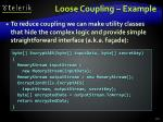 loose coupling example