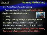 naming methods 2
