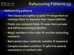 rafactoring patterns 3