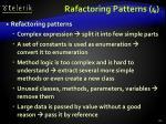 rafactoring patterns 4