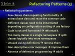 rafactoring patterns 5