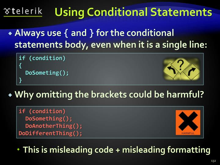 Using Conditional Statements