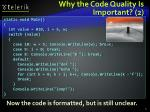 why the code quality is important 2