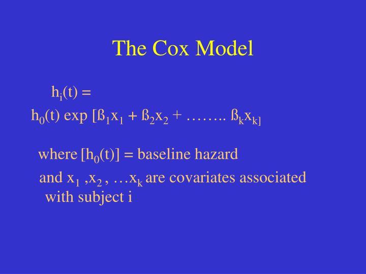 The Cox Model