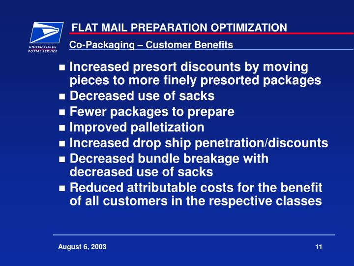 Co-Packaging – Customer Benefits