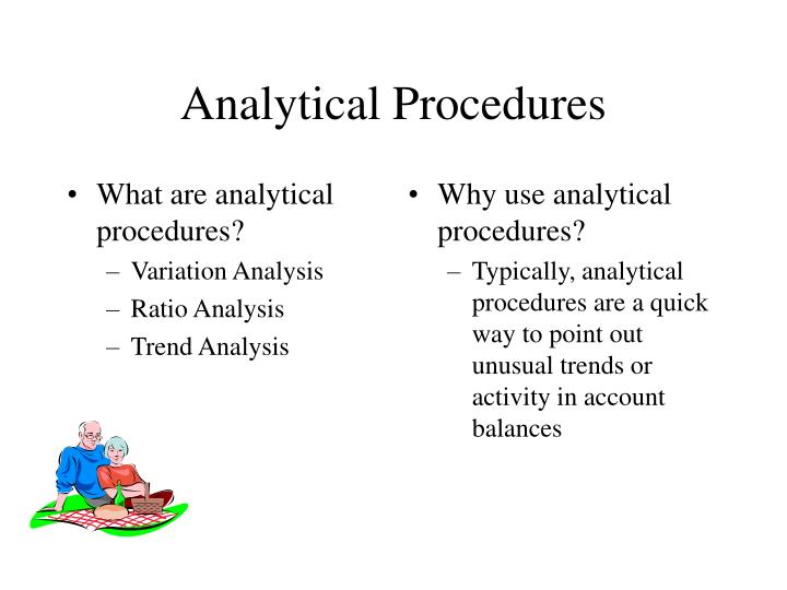 What are analytical procedures?