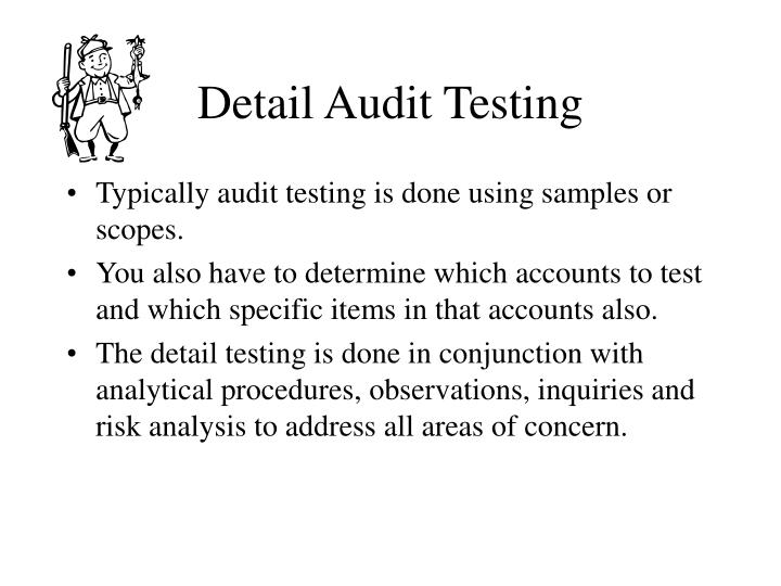 Detail Audit Testing