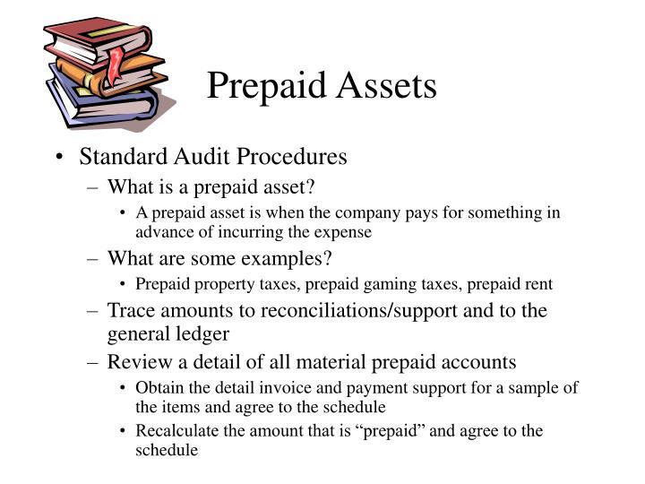 Prepaid Assets