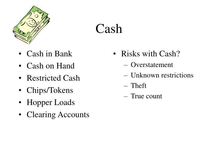 Cash in Bank