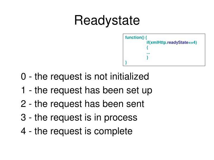 Readystate