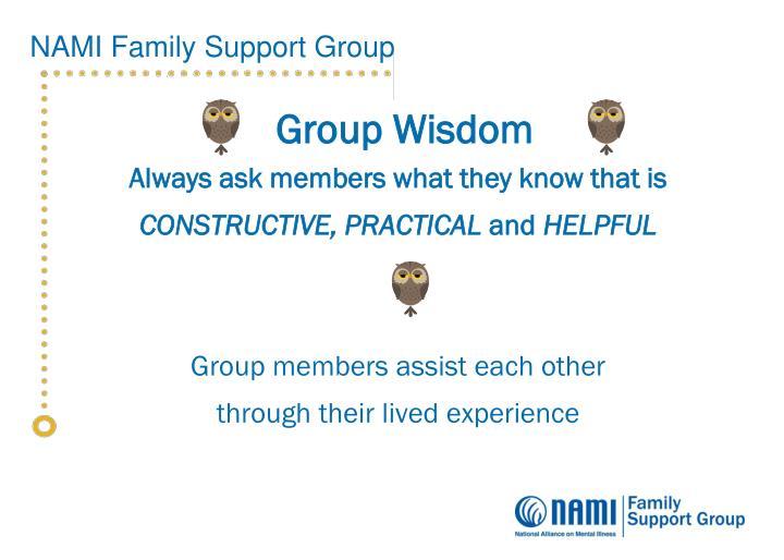 Group Wisdom