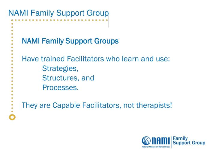 NAMI Family Support Groups