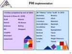 fhi implementation