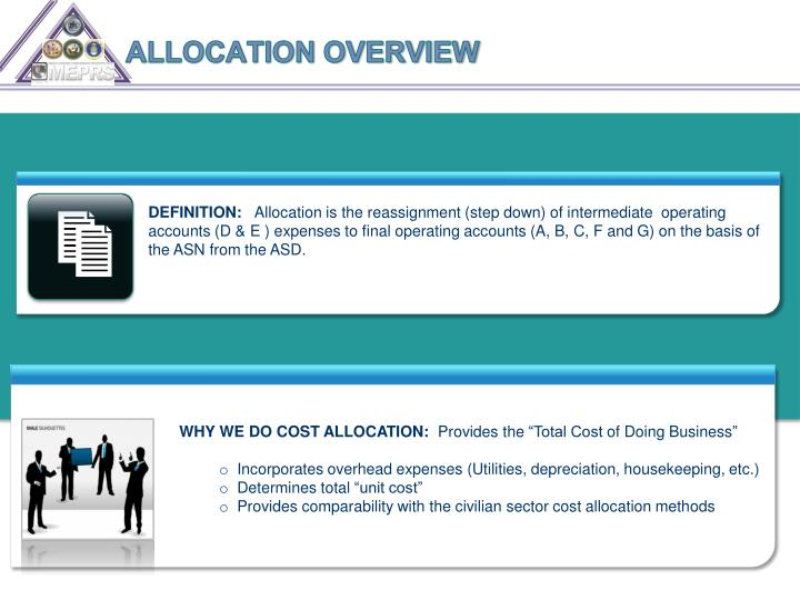 ALLOCATION OVERVIEW