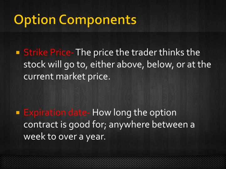 Option Components