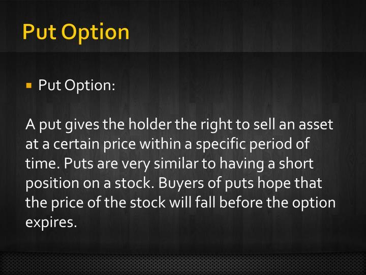 Put Option
