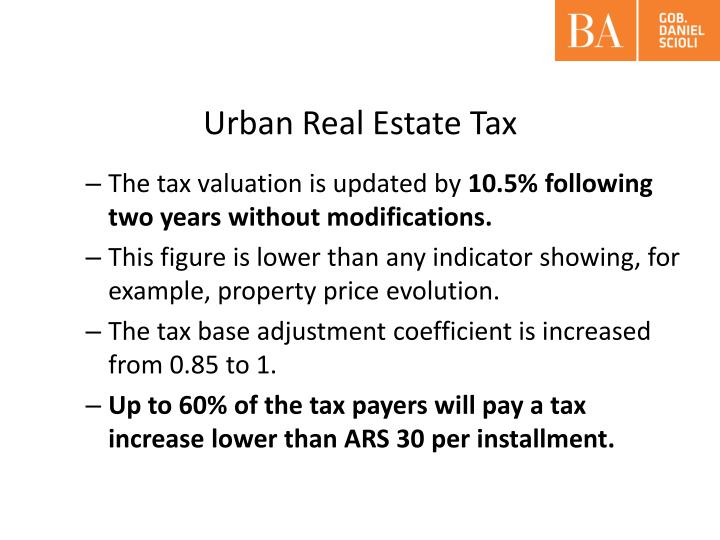 Urban Real Estate Tax