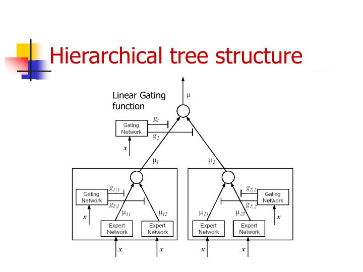 Hierarchical tree structure