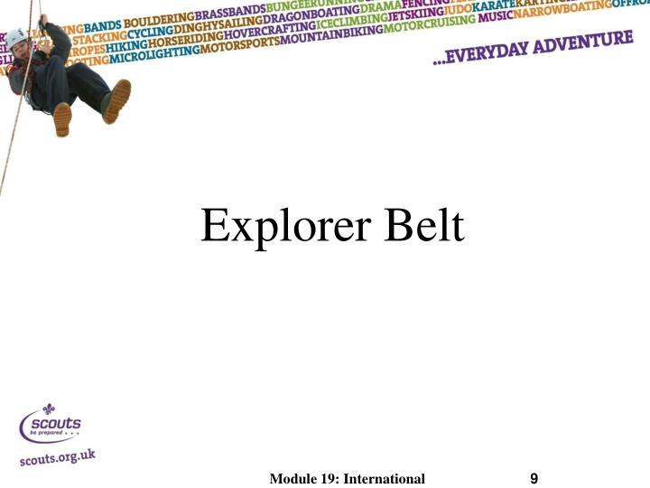 Explorer Belt