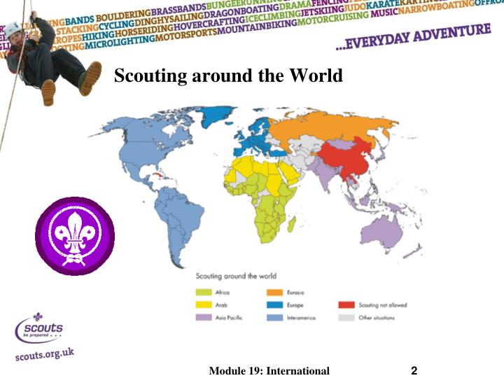 Scouting around the world