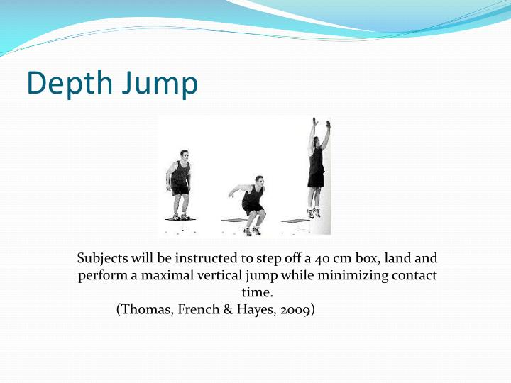 Depth Jump
