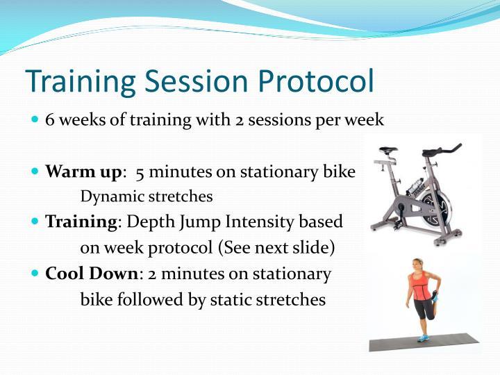 Training Session Protocol