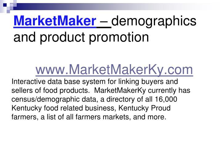MarketMaker