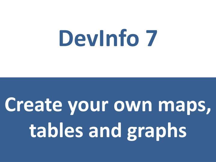 DevInfo 7