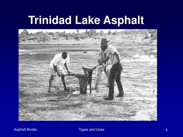 Trinidad Lake Asphalt