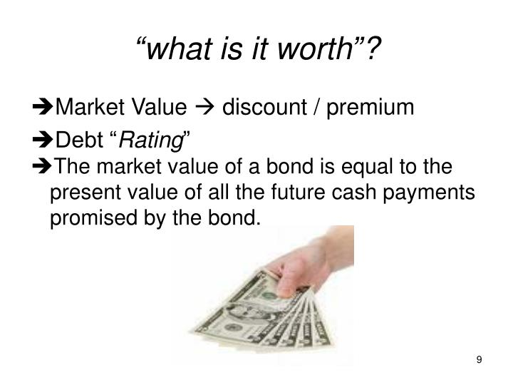 """""""what is it worth""""?"""