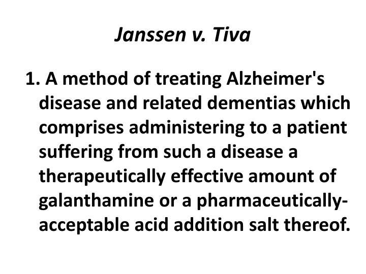 Janssen v. Tiva